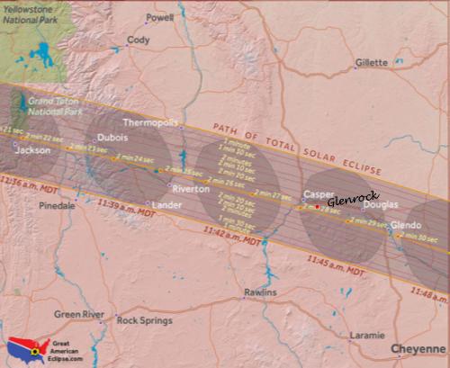 Glenrock S Solar Eclipse Festival Welcome To Glenrock Wyoming